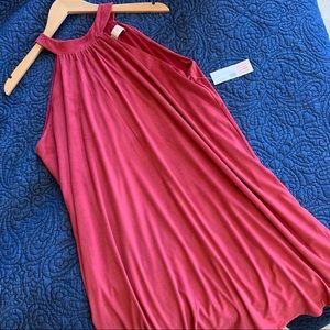Lucy Love💕 Red/Plum soft. Very classy👗NWT..